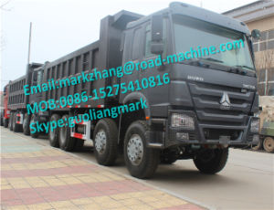 Sinotrck HOWO 8X4 12 Wheeler Dumper Truck 336/371HP Africa Ghana pictures & photos