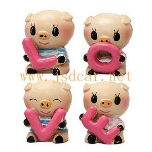 Car Interior Decoration Cute Little Pig Love (JSD-P0051) pictures & photos