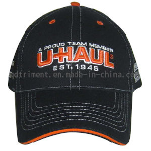 Fashion Contrast Stithing Embroidery Sport Baseball Cap (TRB043) pictures & photos