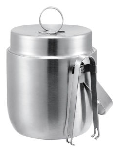 1.2L Durable Stainless Steel Hotel Ice Bucket with Ice Tong pictures & photos