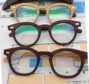 New Brand Fashion High Quality Wooden Sunglasses pictures & photos