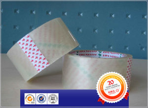 BOPP Packing Tape with Printed Logo / Transparent Carton Sealing Tape / BOPP Clear Packaging Tape pictures & photos