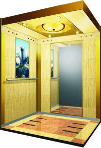 Golden Elegant Passenger Elevator