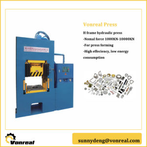 Hydraulic Press Working with High Efficient and Low Energy Consumption pictures & photos