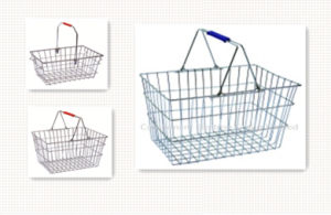 Wire Shopping Basket/Hand Basket pictures & photos