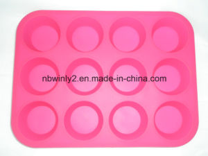 12 Holes Silicone Cake Mold pictures & photos