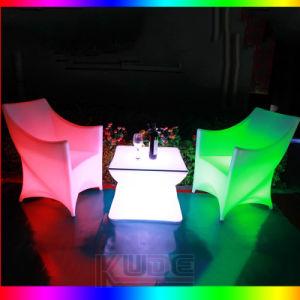 Events Sofa LED Leisure Sofa LED Chair Illuminate Sofa LED Illuminated Bar Club Furnitures pictures & photos