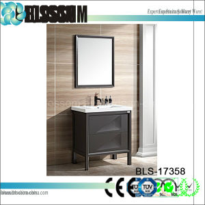 Floor Standing Wholesale Bathroom Vanities (BLS-17358) pictures & photos