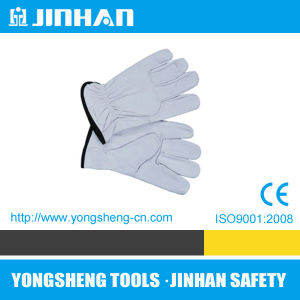 Jinhan Hot Driver Glove Cow Leather Hand Protection (S-8002)