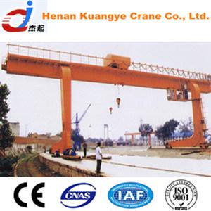 L Type 5~32/5t Single Girder/Beam Gantry Crane with Hook