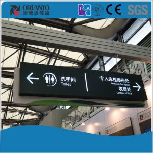 Customized Suspended Guide Panel Slim Light Box pictures & photos