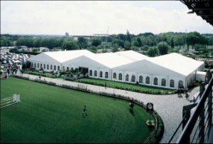 25X50m Big Permanent Hotal Tent for 1000 Person pictures & photos