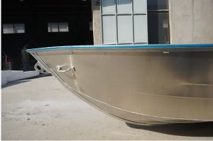 Full Welded Aluminium Boat with Rubber Coating (WV18) pictures & photos