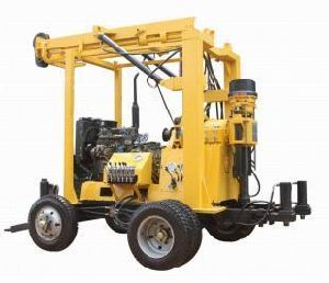 Trailer-Mounted HGH Efficiency Water Well Drilling Machine Rotary Driilling Rigs for Sale pictures & photos