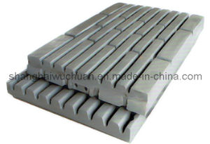 High Manganese Parts Jaw Plate for Jaw Crusher pictures & photos