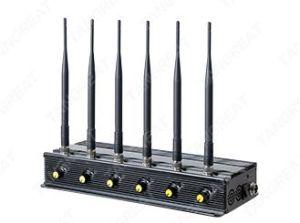 Desktop 4G 3G 2g Cell Phone Jammer, Adjust Cellphone WiFi Jammer, 4G Cellphone GPS Jammer.