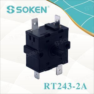 Soken Appliance Electric 5 Position Rotary Selector Switch 16A 250V pictures & photos