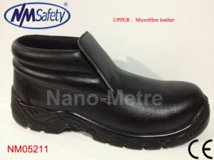 Nmsafety Anti-Stain Middle Cut Workman Safety Shoes pictures & photos