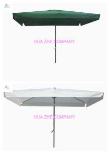 Hz-Um144 6X10ft (2X3m) Umbrella Crank Umbrella with Tilt Outdoor Parasol Garden Umbrella Patio Umbrella pictures & photos