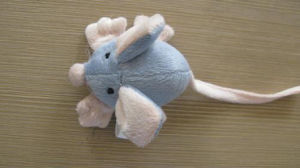 Pet Products Dog Gray Mouse Pet Toy pictures & photos