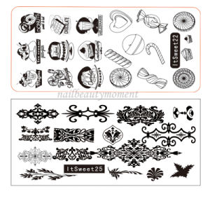 Nails Art Image Stamping Plates Manicure Beauty Products (SNA21) pictures & photos