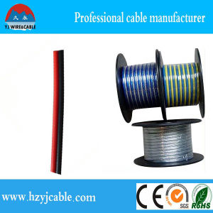 Two Colors Parallel Twin Cores PVC Jacket Factory Price Speaker Cable pictures & photos