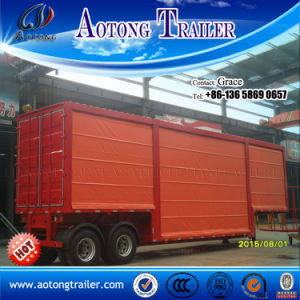 Curtain Side Semi Trailer, Curtain Side Trailer, Side Curtain Semitrailer, Curtain Side Wall Semi Trailer, Side Curtain Van Trailer, Side Curtain Trailer pictures & photos