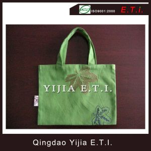 Eco Freindly Small Size Cotton Bag with Embroidery pictures & photos