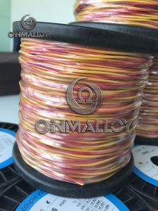 20AWG Type K Thermocouple Cable Kp Kn Thermocouple Cable/Wire pictures & photos