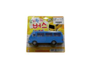 Hot Sale Plastic Pull Back Bus (10218107) pictures & photos