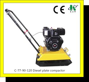 Diesel Plate Compactor (C-77, C-90, C-120) CE Approved pictures & photos
