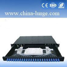 1u Sc 24 Port Drawer Type Fiber Optic Patch Panel/ODF pictures & photos