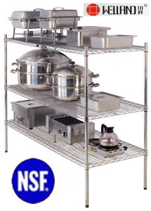 Stainless Steel Commercial Kitchen Storage Rack pictures & photos