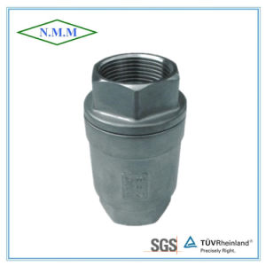 Stainless Steel Threaded Ends Spring Vertical Type Check Valve pictures & photos