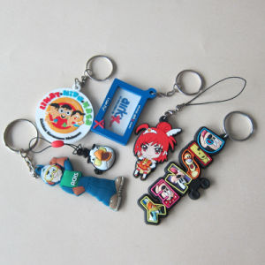 Customized PVC Silicone Rubber Keychain Key Chain pictures & photos