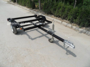 Utility Trailer with Red Power Coated (TR0400) pictures & photos