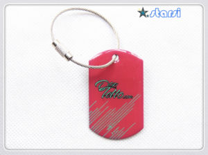 Custom Stainless Steel Epoxy Dog Tag Std01