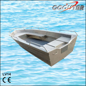 Two Side Bench LV Type Aluminum Boat (LV14) pictures & photos