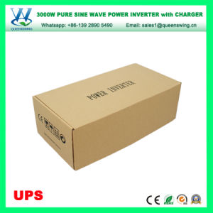 3000W 12V/24VDC 110V/220VAC Pure Sine Wave Power Inverter with UPS 25A Charger (QW-P3000UPS) pictures & photos