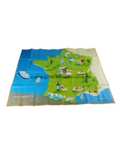 Promotional Folded PP Woven Beach Mat pictures & photos