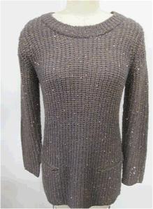 50% Polyester 50% Acrylic Ladies / Women Knitting Sweater