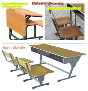 School Classroom Desk and Chair with New Design pictures & photos