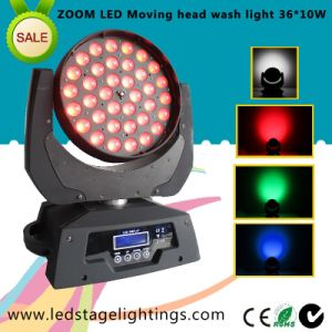 LED Moving Head Wash/10W 36PCS RGBW Quad LED Stage Light pictures & photos