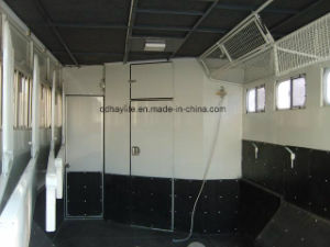 2 Horse Angle Load Float-Deluxe Horse Trailer Horse Loading Float pictures & photos