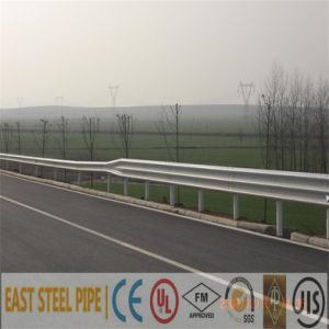 Aashto M180 Ce Certificate Galvanized Coated W Beam Highway Guardrail Contractor pictures & photos