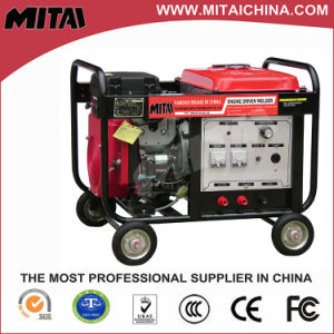High Efficiency with Stable Current MMA TIG Gasoline Welding Machine pictures & photos