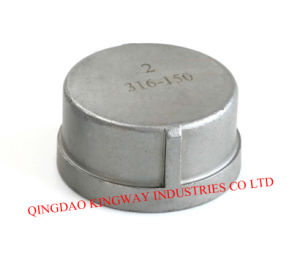 Stainless Steel Threaded Cap, 304/316 pictures & photos