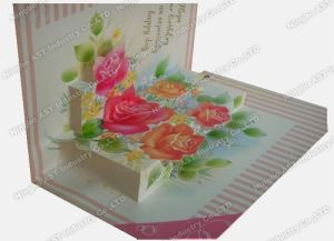 Pop-up Printing Cards, Christmas Greeting Cards pictures & photos