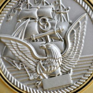 Jiabo Custom Made Metal Alloy 3D Navy Chief Challenge Coin pictures & photos