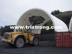 10m Wide Container Shelter, Container Canopy, Gazebo, Cancopy, Super 40′ Container Canopy (TSU-3340C) pictures & photos